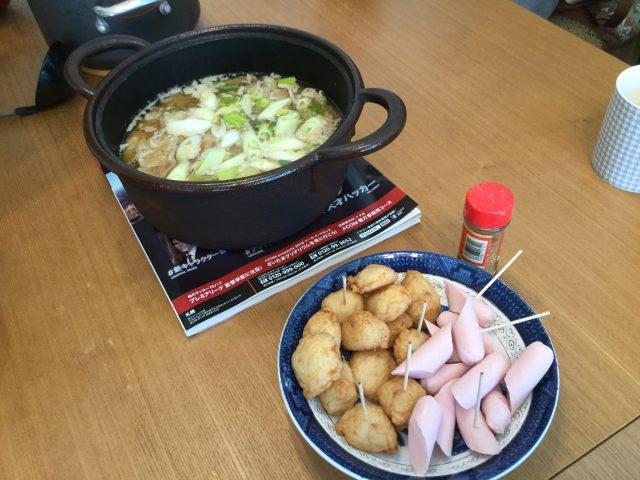 揚げカマ&魚肉ソーセージ